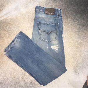 Men's Diesel jeans, men's size 34/30